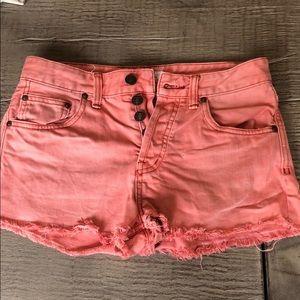 NWOT Free People Denim Shorts